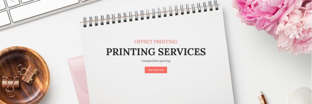 Web design for printing companies
